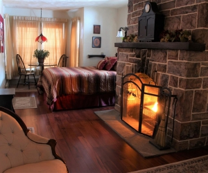 Room A: Creekside Fireplace Suite, 2nd Floor